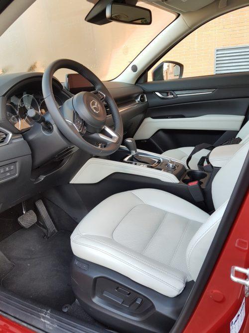 Mazda CX-5, perspectiva 38