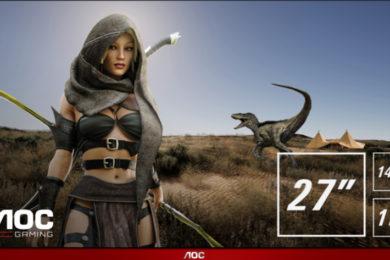 AOC G90: monitores gaming a precio contenido