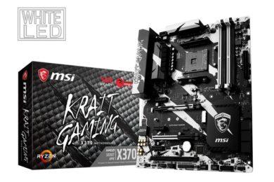MSI actualiza sus placas base para soportar las APUs Raven Ridge
