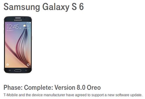 T-Mobile quiere llevar Android O a los Galaxy S6 y Galaxy Note 5 32