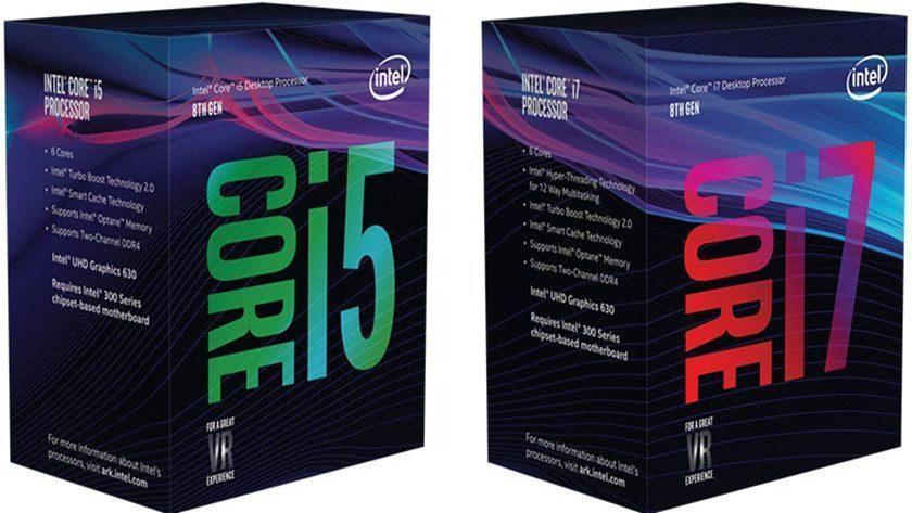 Intel añade nuevos procesadores Coffee Lake para PCs