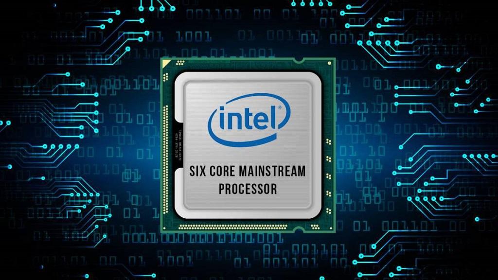 Core i9-8950HK; seis núcleos y doce hilos con un modo turbo de 4,8 GHz 34