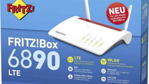 AVM FRITZ!Box 6890 LTE; todo lo que necesitas para estar siempre conectado