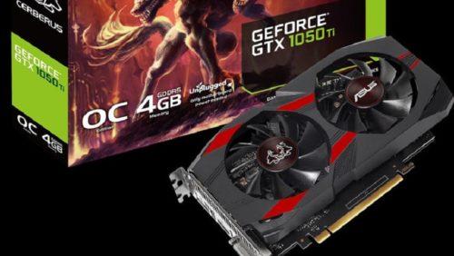 ASUS presenta las nuevas GTX 1050 y GTX 1050 TI Cerberus