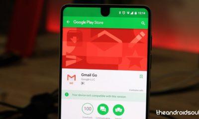 Gmail Go llega a la Google Play Store, una versión más eficiente 30