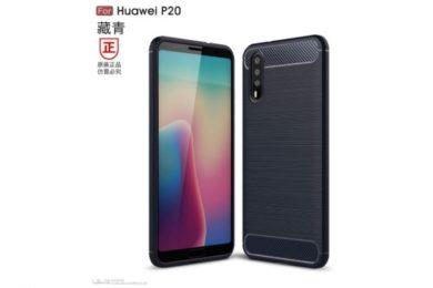 Primeros renders del Huawei P20 con triple cámara trasera