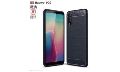 Primeros renders del Huawei P20 con triple cámara trasera 93