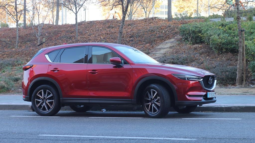 Mazda CX-5, perspectiva 34