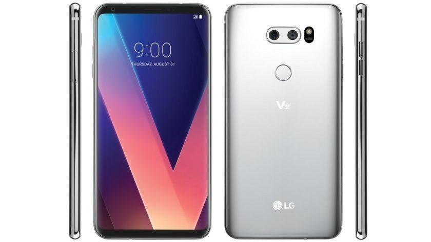 LG V30 2018 llegará al MWC renovado con funciones Voice AI