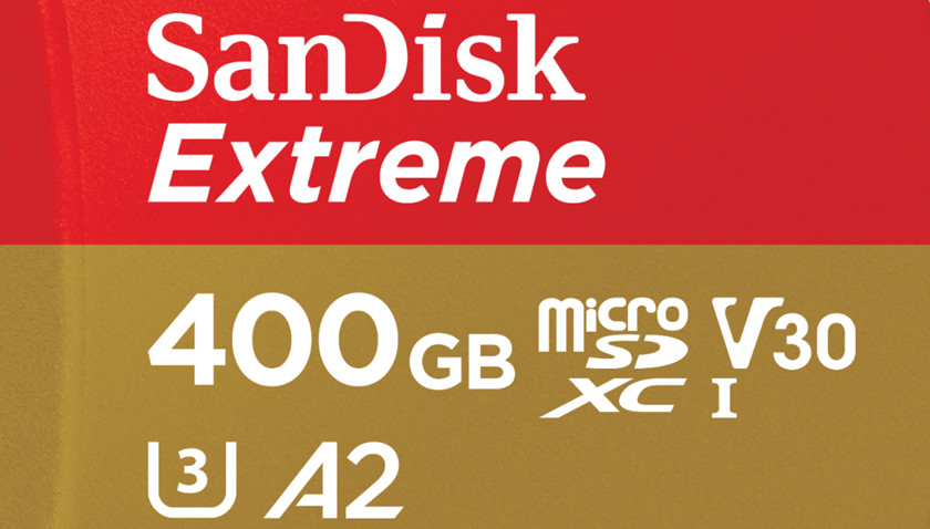 microSD de 400 GB