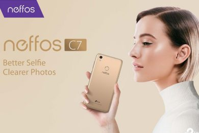 TP-Link presenta el nuevo smartphone Neffos C7, especificaciones