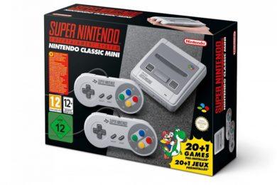 La gran N ha vendido 4 millones de Super Nintendo Mini Classic
