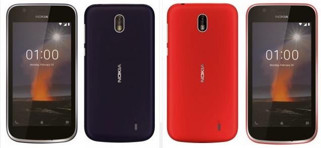 Renders oficiales de los Nokia 7 Plus y Nokia 1 29