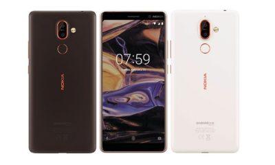 Renders oficiales de los Nokia 7 Plus y Nokia 1 121