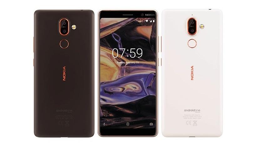 Renders oficiales de los Nokia 7 Plus y Nokia 1 27