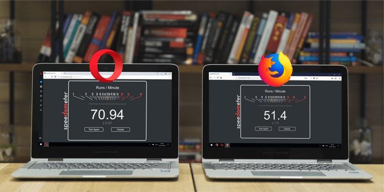Opera 51 Vs. Firefox 58 Quantum