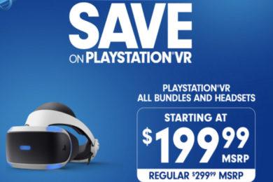 Sony baja el precio del PlayStation VR