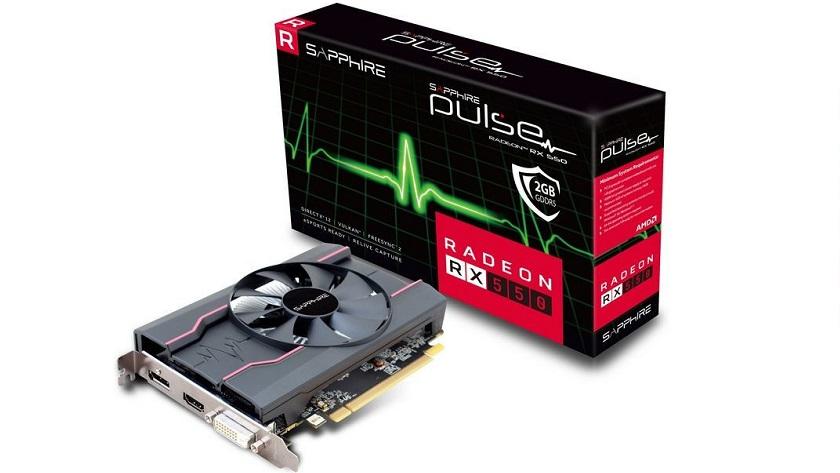 Sapphire Pulse Radeon RX 550; nuevo modelo con 640 shaders 29