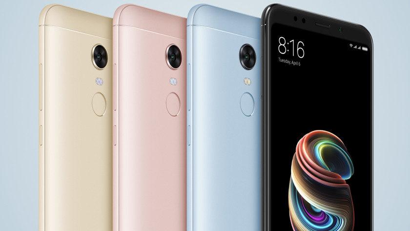 Xiaomi comercializa los Redmi Note 5