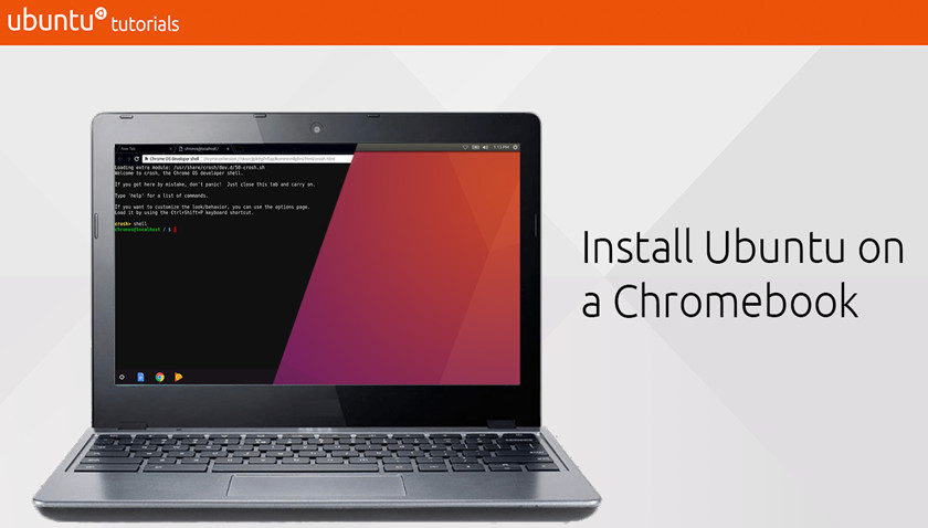 Ubuntu en Chromebooks, con tutorial oficial de Canonical