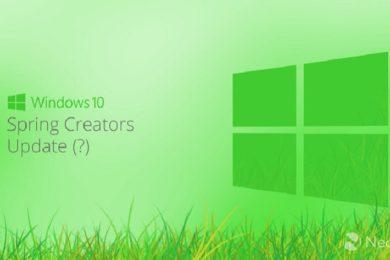 Windows 10 Spring Creators Update, la próxima gran actualización de Microsoft