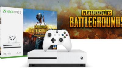 Xbox One S con PUBG