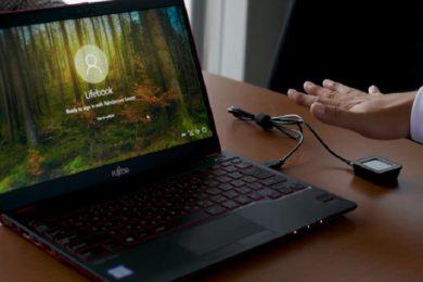 Microsoft y Fujitsu apuestan por la autenticación con las venas de la mano