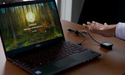 Microsoft y Fujitsu apuestan por la autenticación con las venas de la mano 39