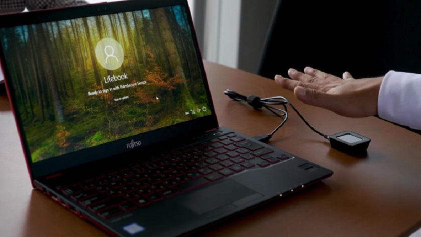 Microsoft y Fujitsu apuestan por la autenticación con las venas de la mano 29