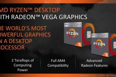 El kit de arranque de AMD para los Ryzen 2000 incluye una APU A6-9500
