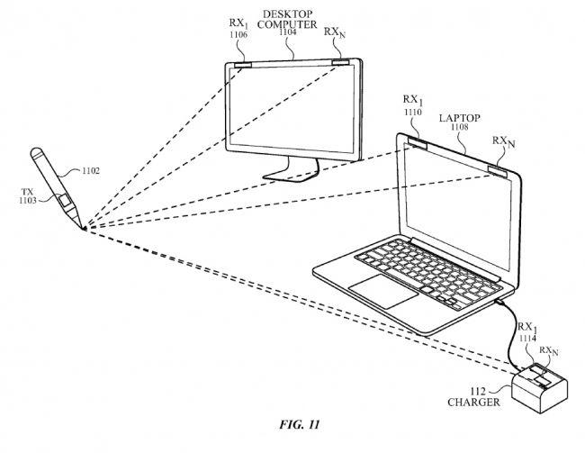 Apple patenta un lápiz óptico que puede funcionar en el aire 30