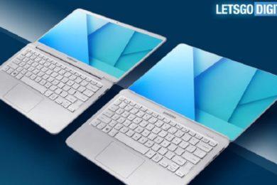 Samsung patenta portátil con pantalla sin bordes, una idea interesante