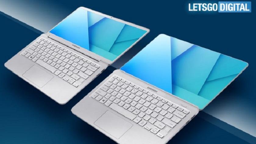 Samsung patenta portátil con pantalla sin bordes, una idea interesante 29