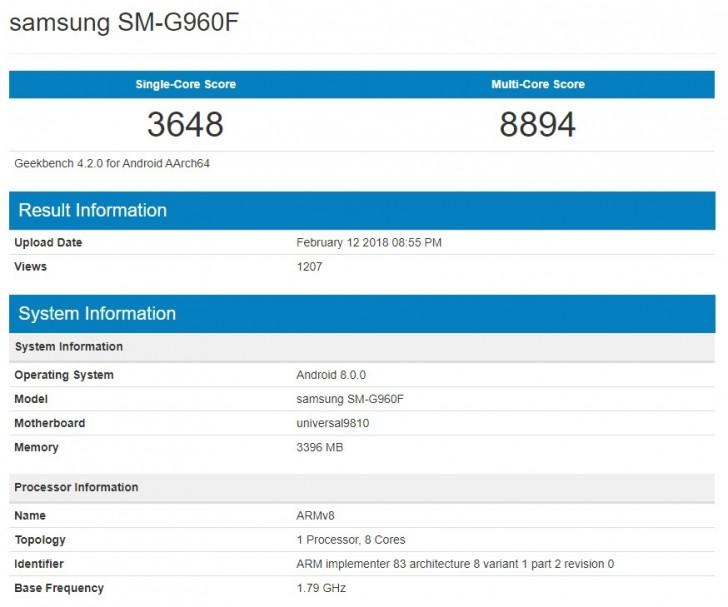 Rendimiento del Galaxy S9 con Exynos 9810 en Geekbench, ¿supera al Snapdragon 845? 32