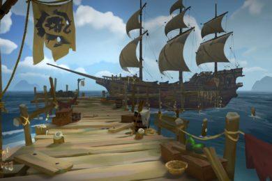 Requisitos de Sea of Thieves; podrás jugarlo hasta en 540p y 30 FPS
