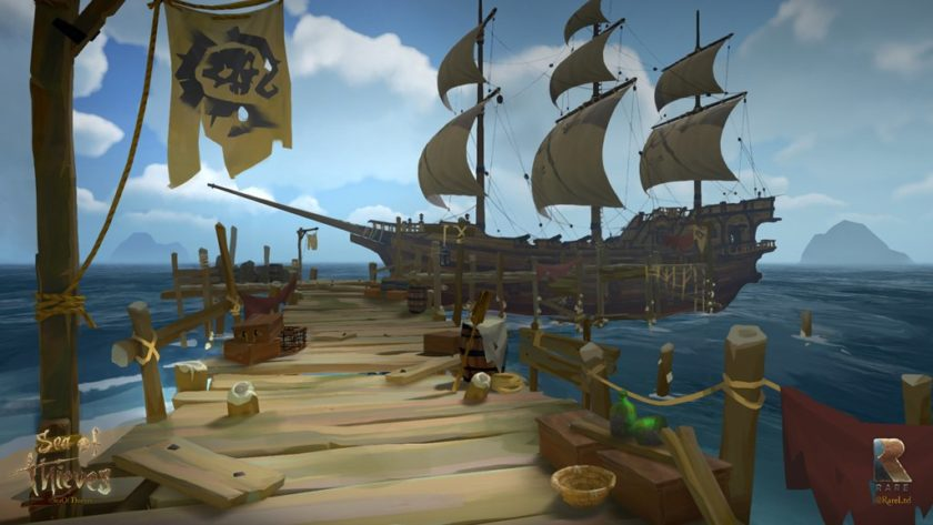 Requisitos de Sea of Thieves; podrás jugarlo hasta en 540p y 30 FPS