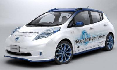 Nissan empezará a probar su taxi autónomo este año 123