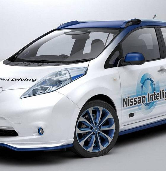 Nissan empezará a probar su taxi autónomo este año 31