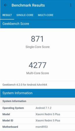 Xiaomi Redmi 5 Plus, análisis 31