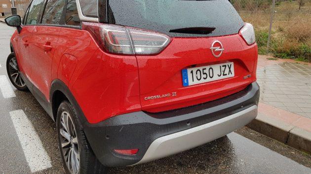 Opel Crossland X, destinos 36