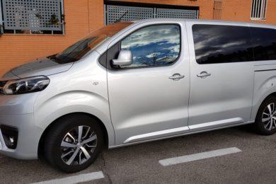 Toyota Proace Verso, amplitud