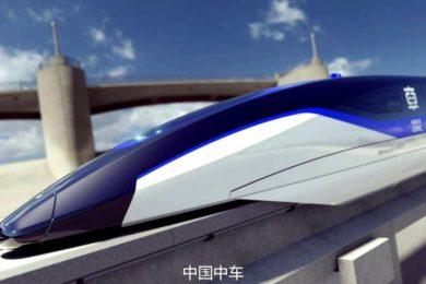 China desarrolla un prototipo para un tren maglev que puede viajar a 1.000 Km/h