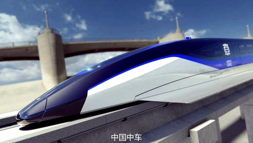 China desarrolla un prototipo para un tren maglev que puede viajar a 1.000 Km/h 30