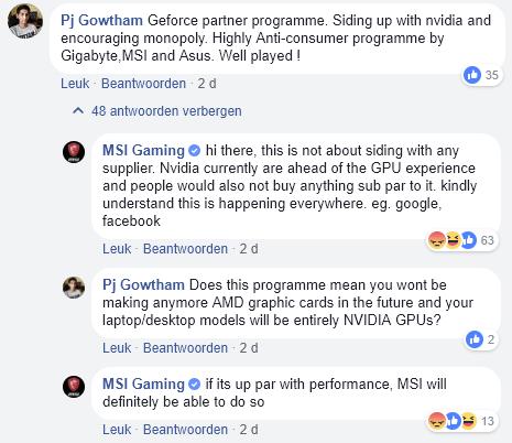 MSI India dice que AMD está por debajo de NVIDIA en tarjetas gráficas 31