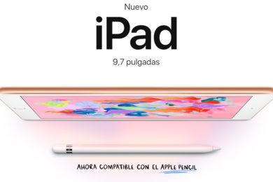 Así es el nuevo iPad de Apple para educación