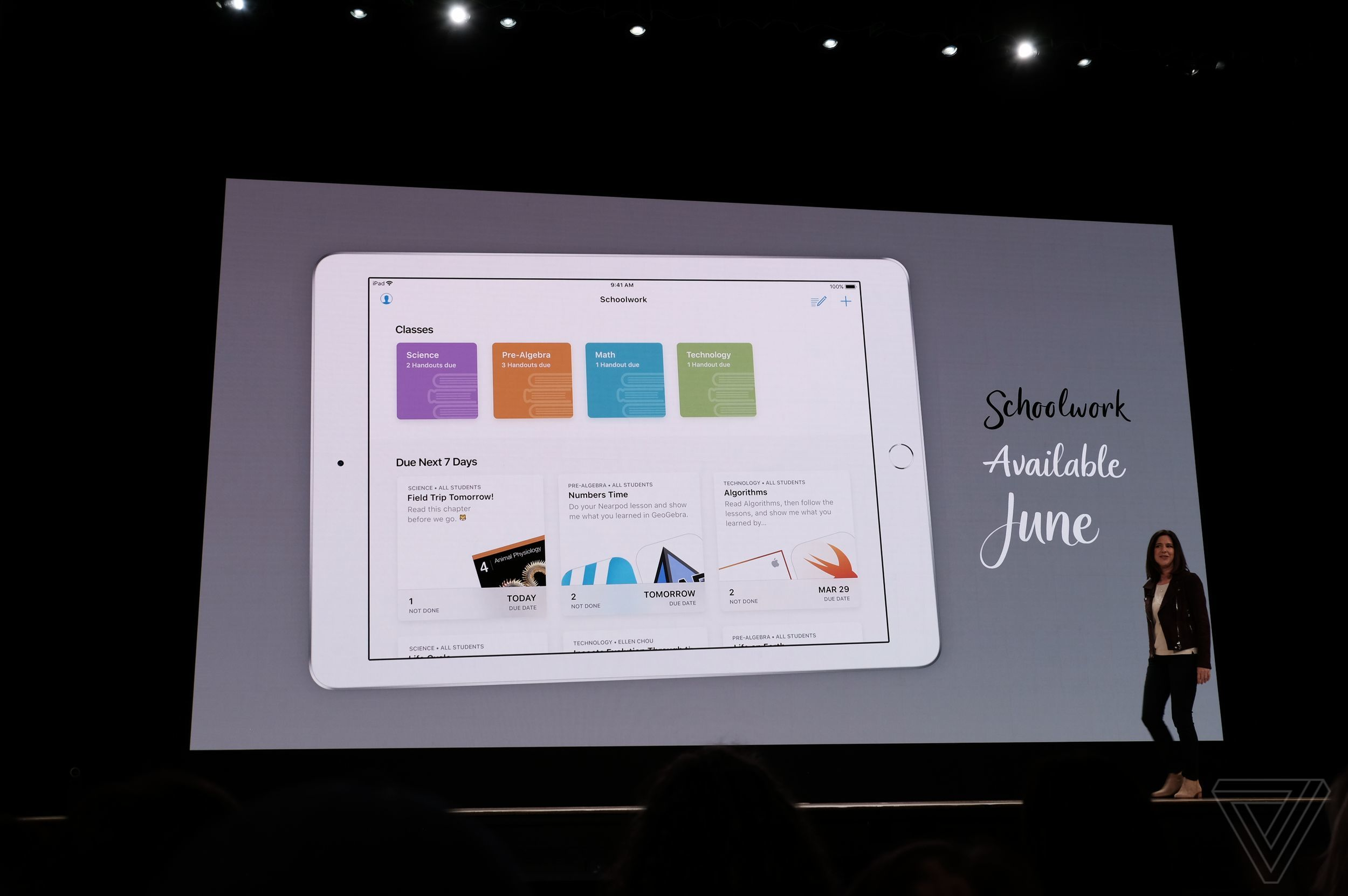 Evento Apple para educación, en directo y con el nuevo iPad 51