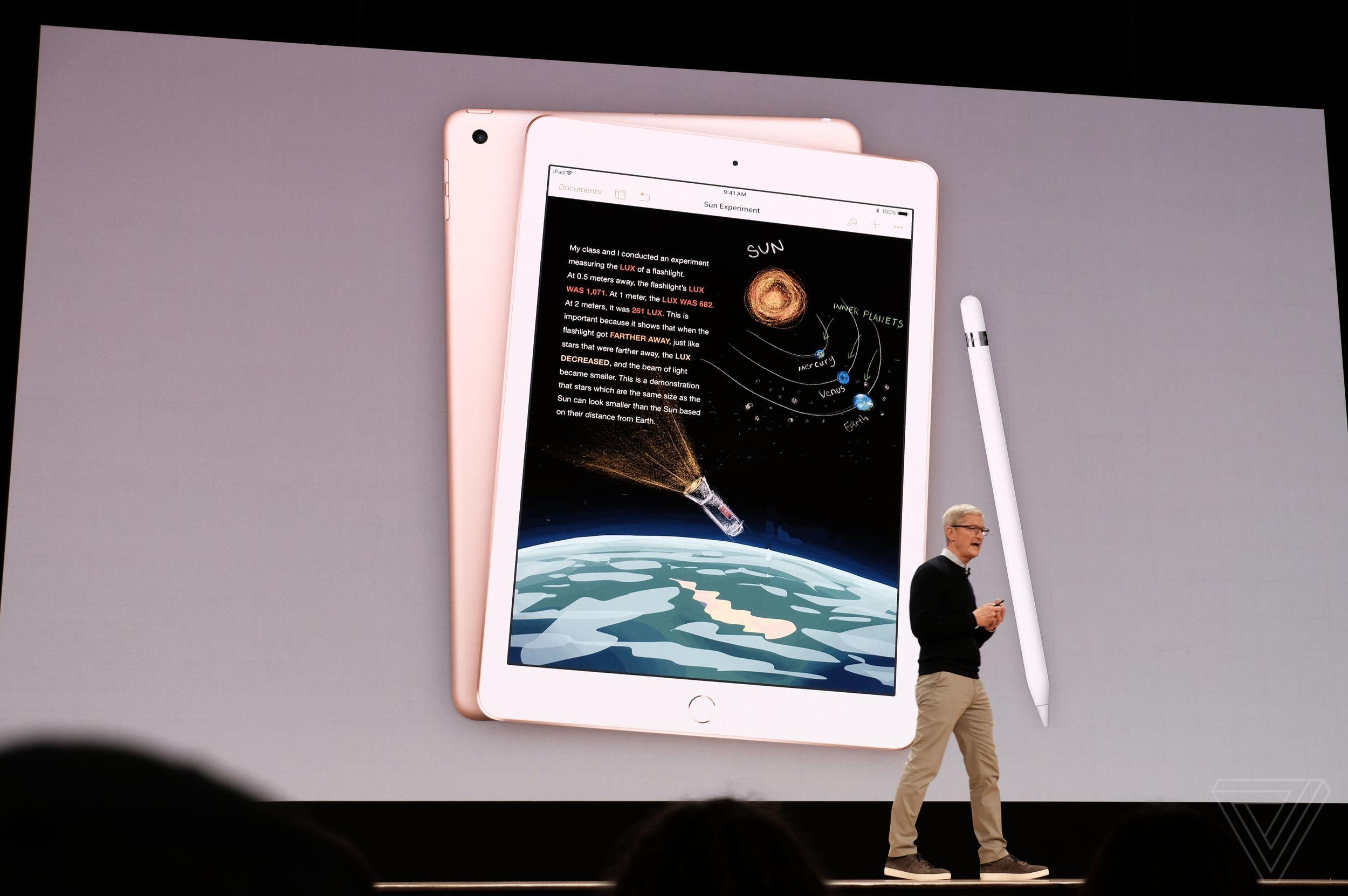 Evento Apple para educación, en directo y con el nuevo iPad 55