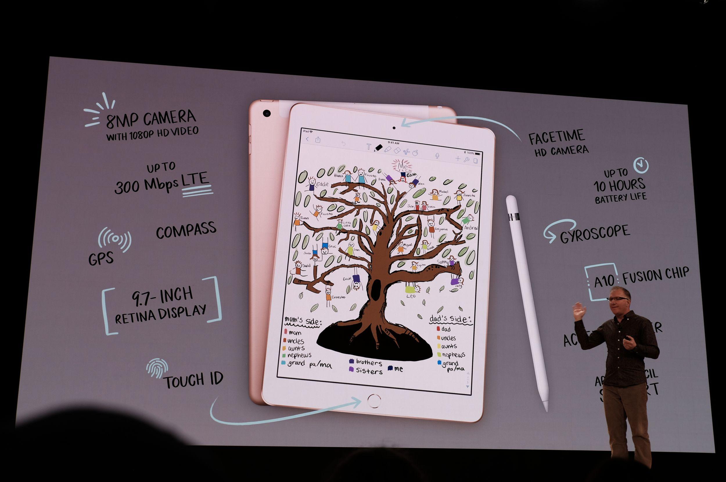Evento Apple para educación, en directo y con el nuevo iPad 39