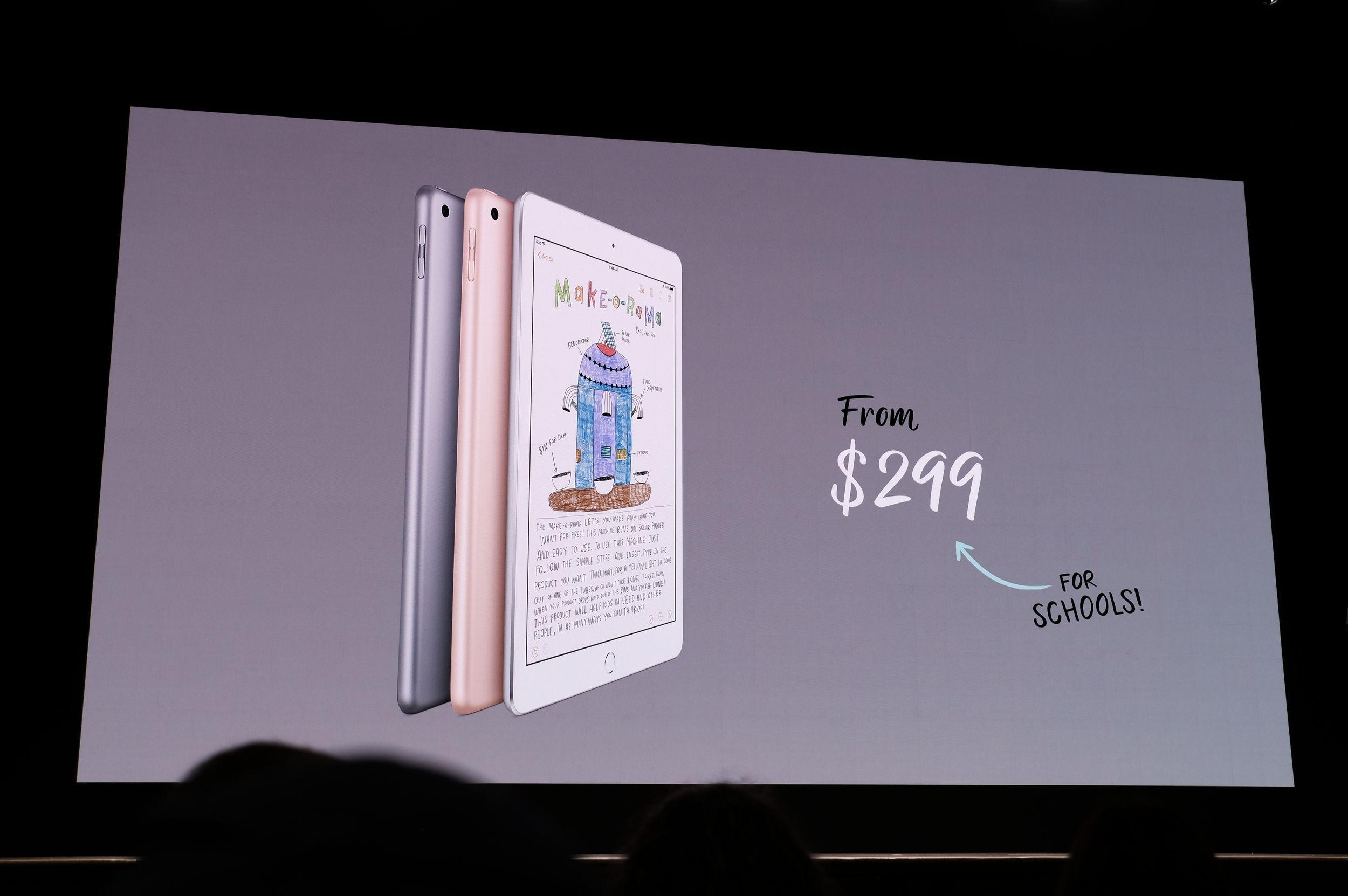 Evento Apple para educación, en directo y con el nuevo iPad 45