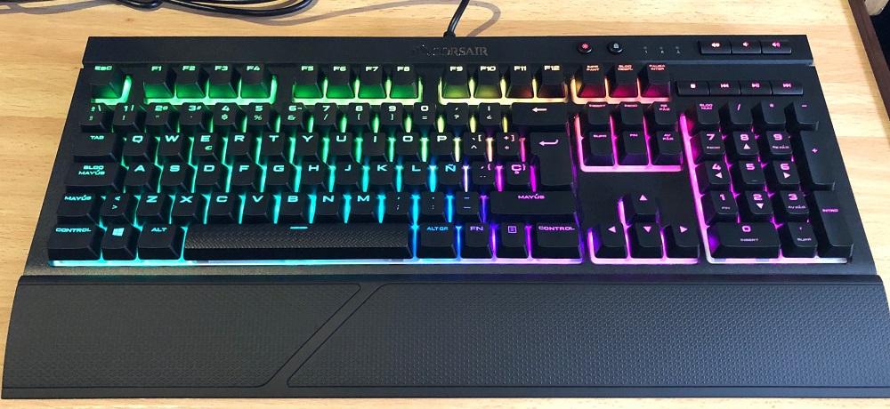 Análisis del teclado mecánico CORSAIR K68 RGB 35